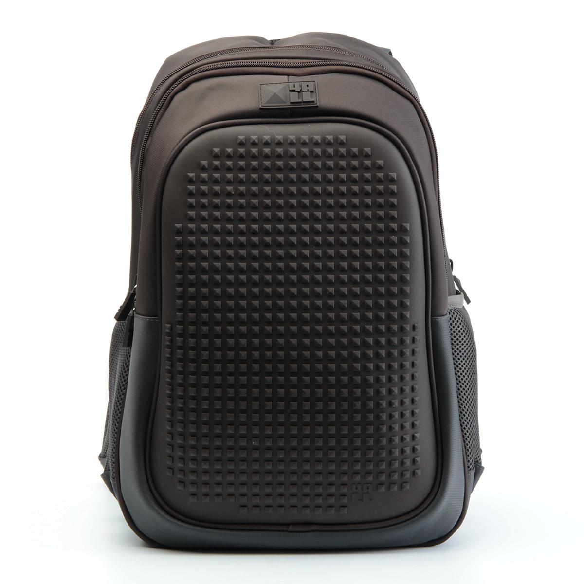 Рюкзак подростковый 4All Case Граффити Темно-серый  + Пиксели<br>