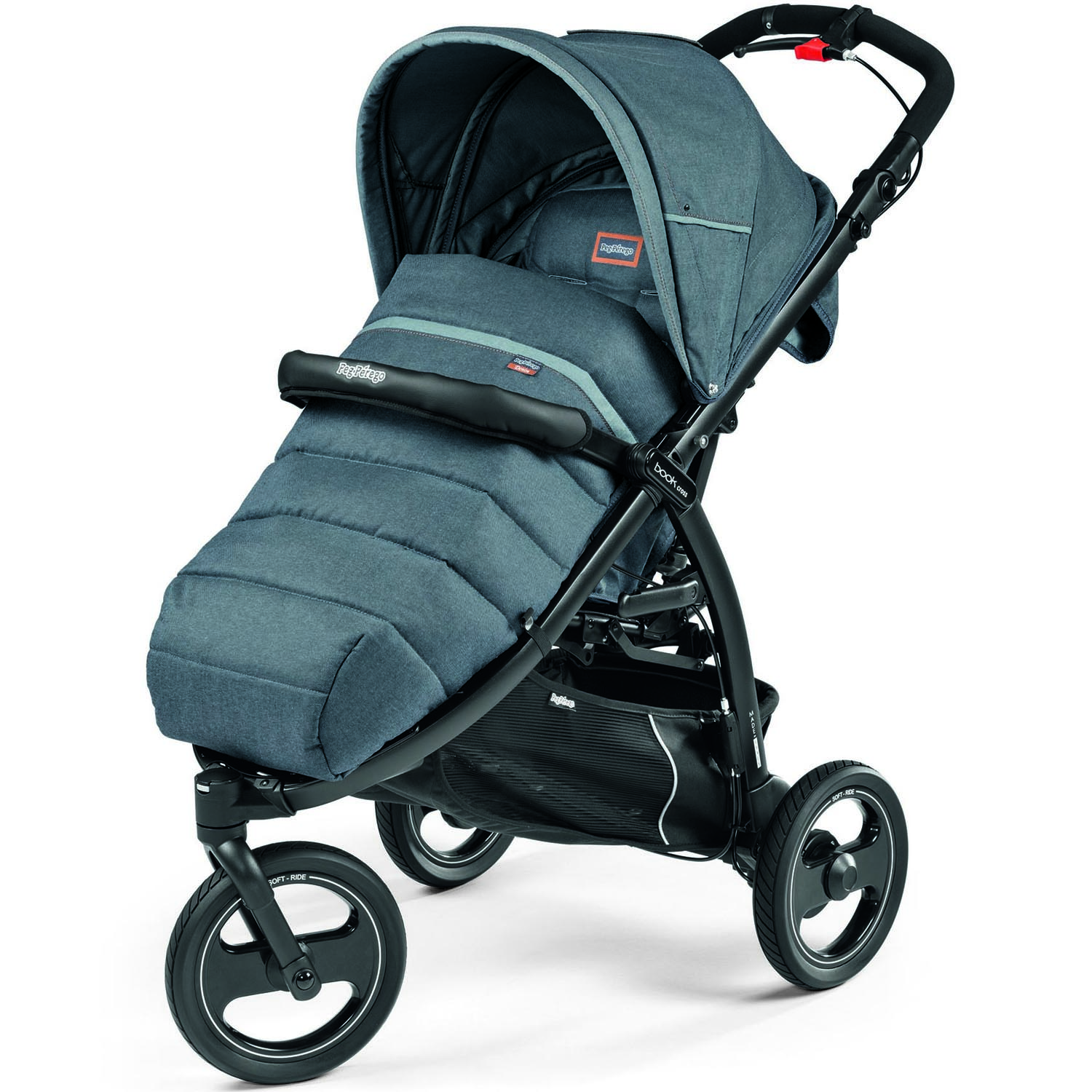 Коляска Peg-Perego Book Completo Cross Blue Denim<br>