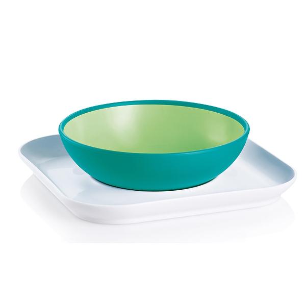 Тарелка MAM 2 шт (с 6 мес) зеленая<br>