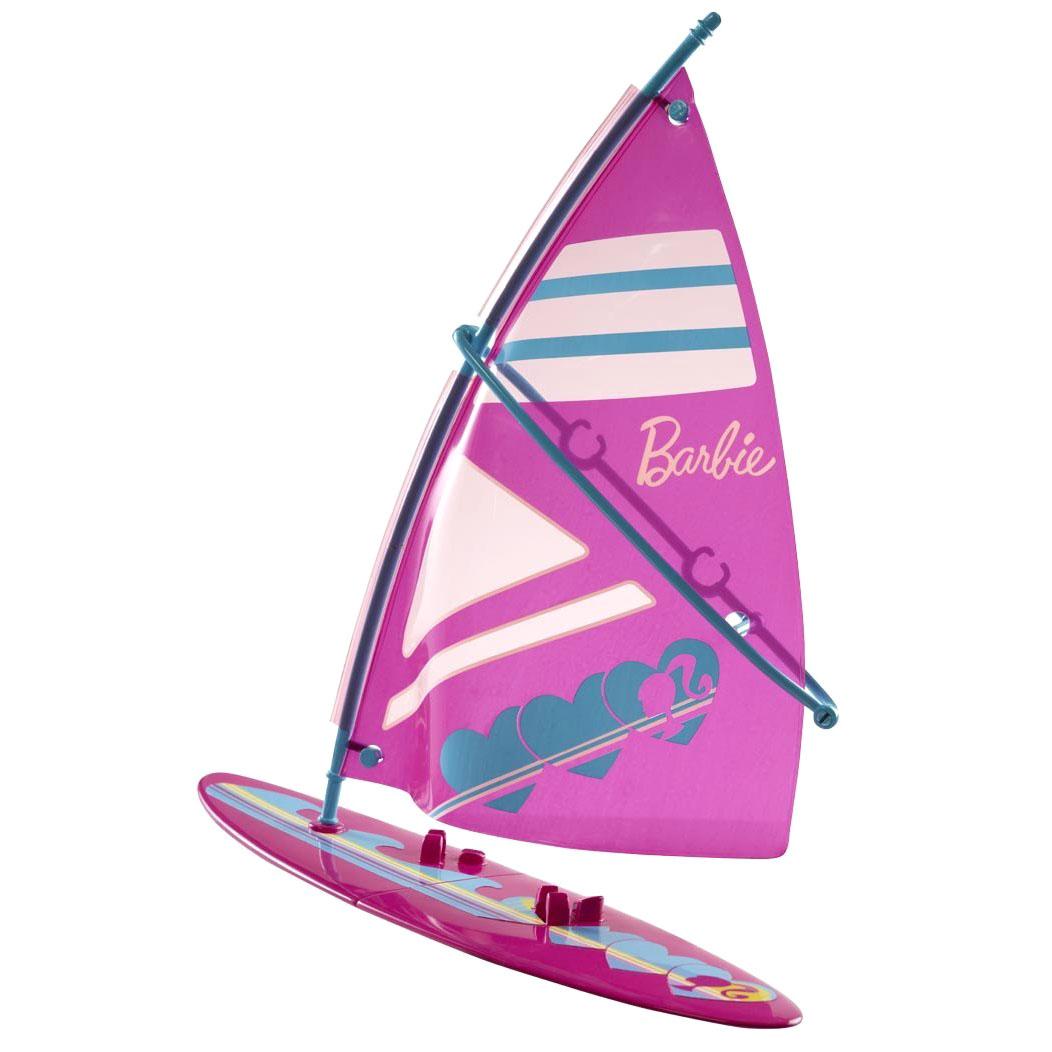 Игровой набор Barbie аксессуаров для прогулки Доска для видсерфинга<br>