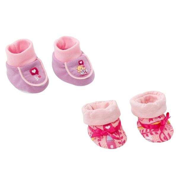 Обувь для кукол Zapf Creation Baby Born Ботиночки мягкие в блистере (в ассортименте)<br>