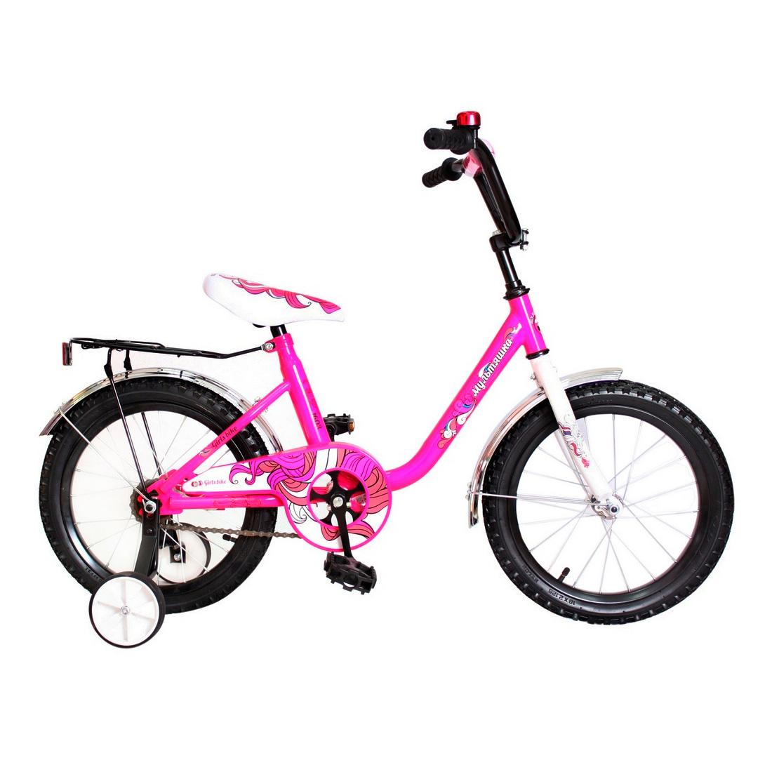 Велосипед двухколесный RT МУЛЬТЯШКА 14 XB1403 Розовый<br>