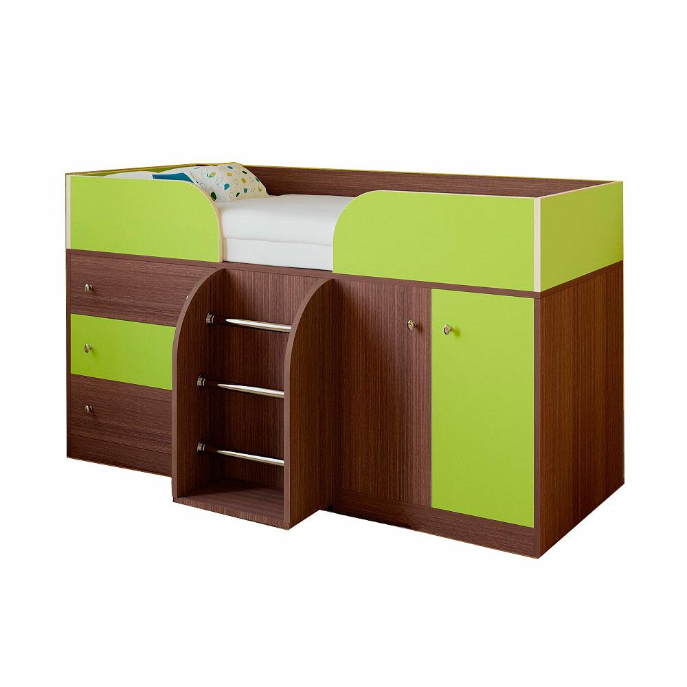 Набор мебели РВ-Мебель Астра 5 Дуб шамони/Салатовый<br>
