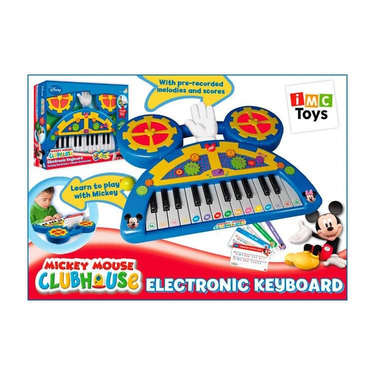 Музыкальные игрушка IMC toys Пианино Mickey Mouse<br>
