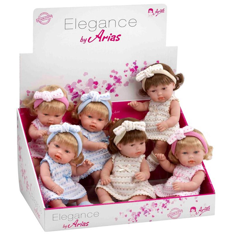 Кукла Arias 33 см В платье<br>