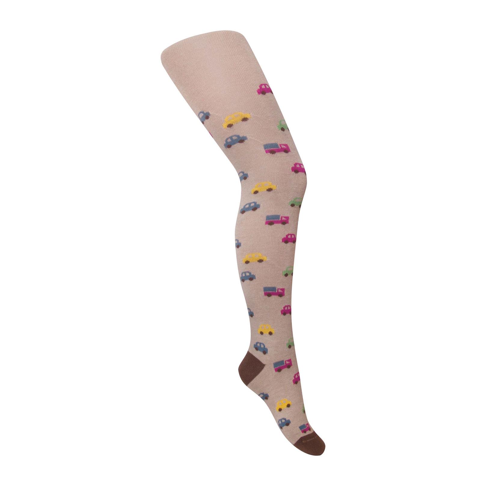 Колготки Para Socks с рисунком K1D26 р 86-92 см бежевый<br>