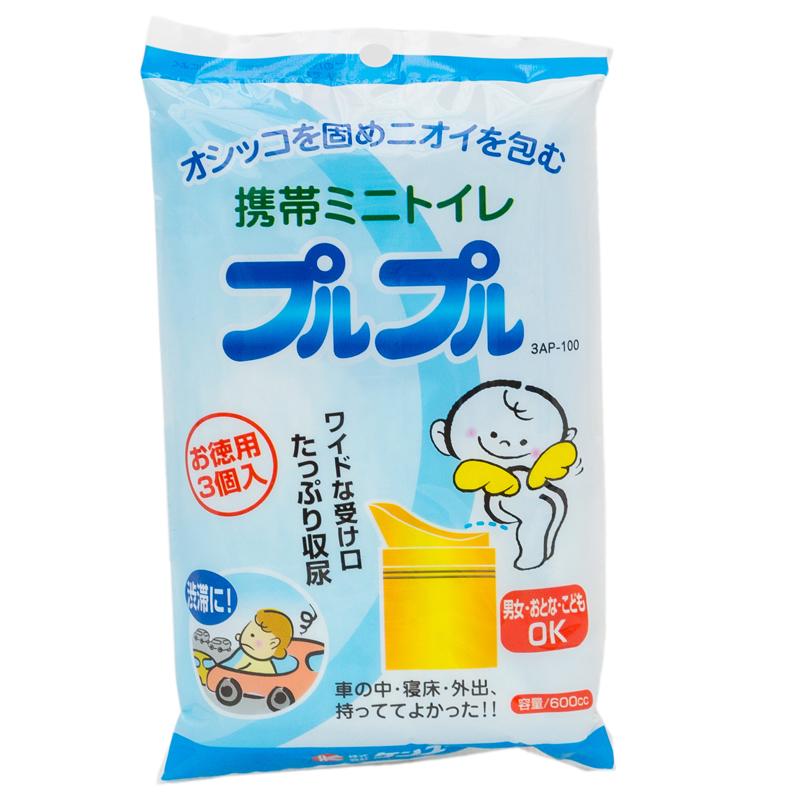 Мобильный туалет-пакет Kenyuu Для мальчиков 3 шт<br>