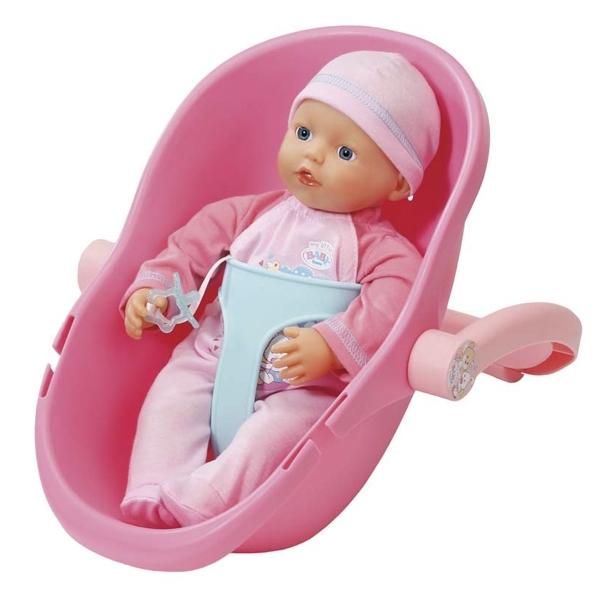Кукла Zapf Creation My little Baby Born 32 см и кресло-переноска<br>