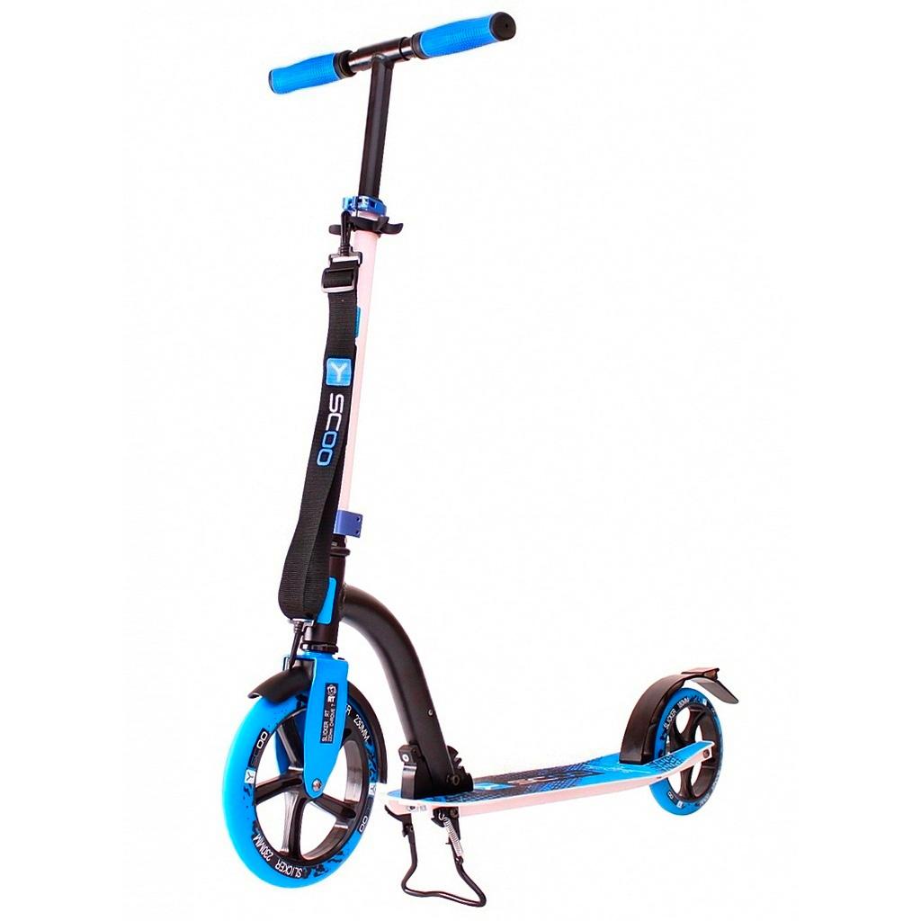 Самокат Y-SCOO RT 230 Slicker NEW Technology Blue<br>