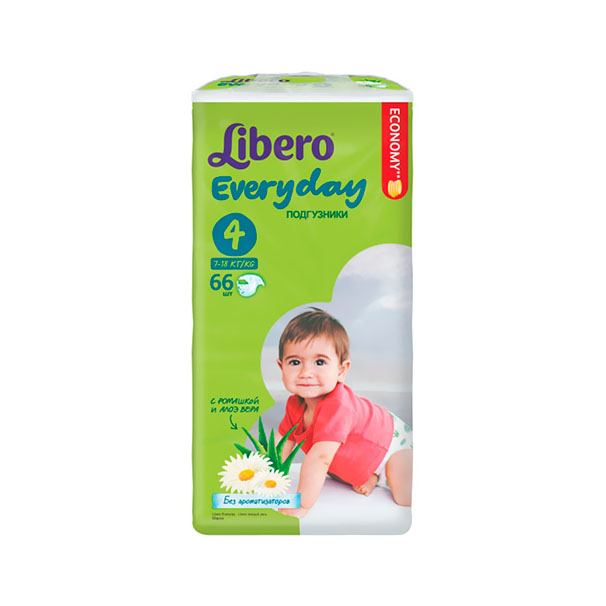 ���������� Libero Everyday Natural � �������� Maxi 7-18 �� (66 ��) ������ Maxi