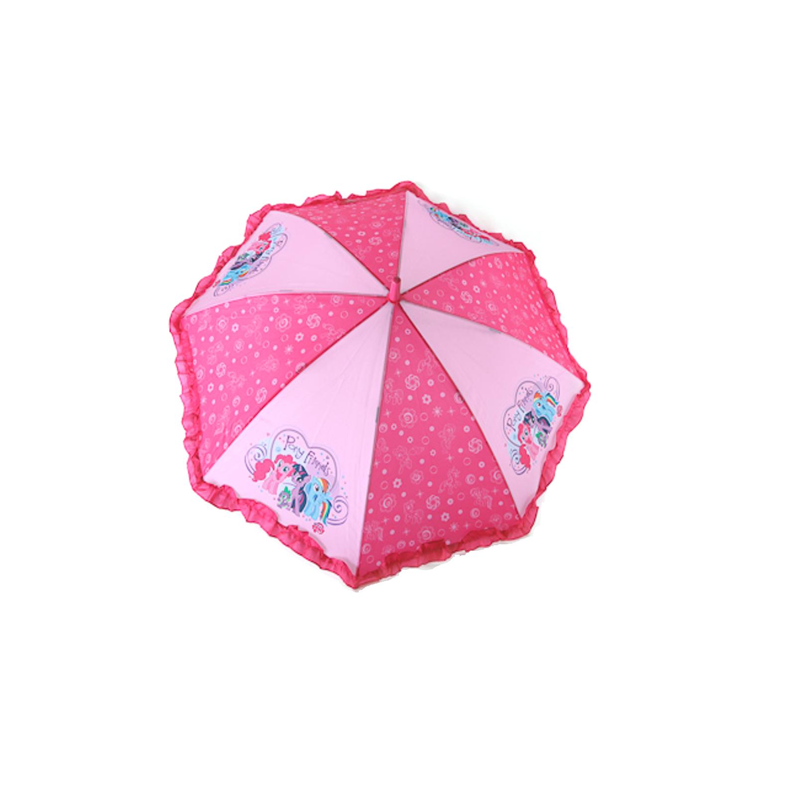 Зонт My Little Pony Розовый с оборкой 18 см.