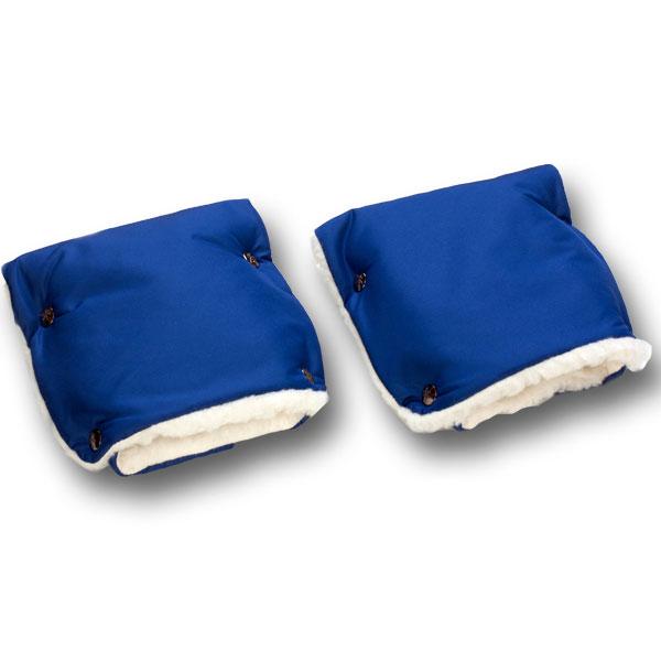 Муфты-рукавички Чудо-Чадо меховые Синий<br>