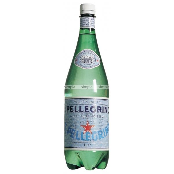 Газированная вода San Pellegrino Сан Пелегрино 1 л. (пластик)<br>
