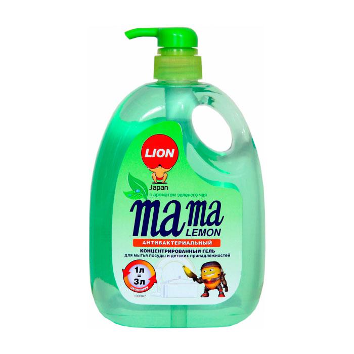 Средство для мытья посуды Lion Mama Lemon Зеленый чай 1 л<br>