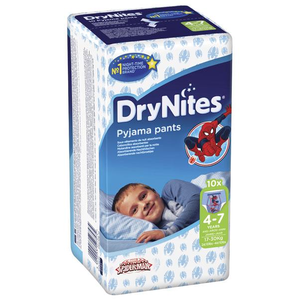 Трусики Huggies DryNites ночные для мальчиков 4-7 лет 17-30 кг (10 шт)<br>
