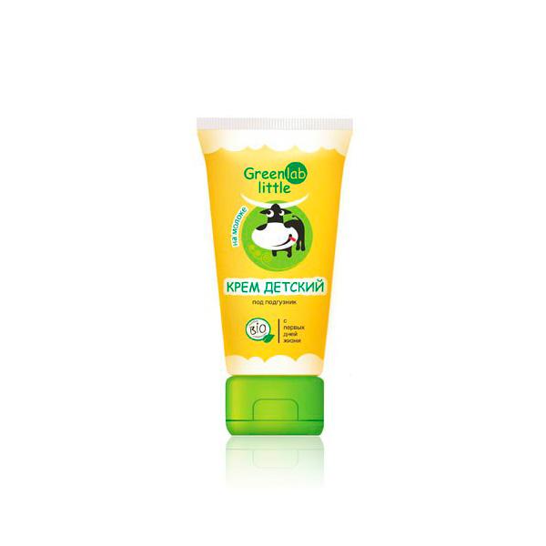 Крем детский Greenlab Little 100 мл на молоке с витамином E
