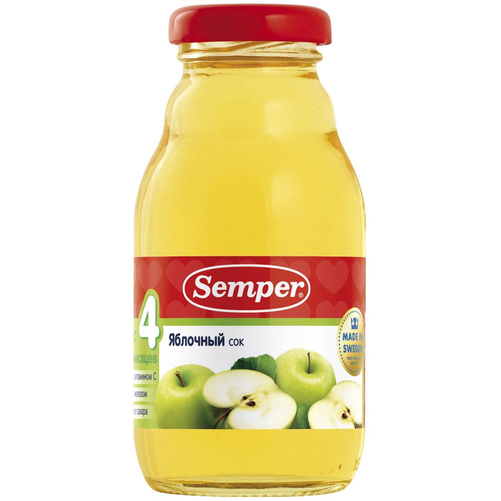Сок Semper 200 мл Яблоко (с 4 мес)