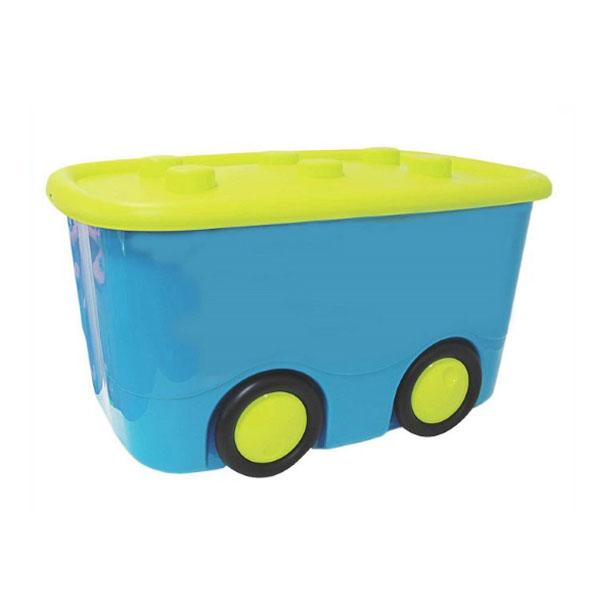 Ящик для игрушек Idea МОБИ Бирюзовый<br>