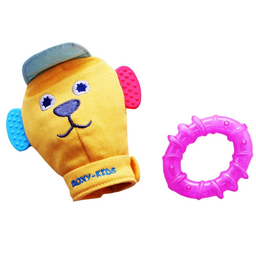 Игрушка рукавичка Roxy-kids Вуффи, розовая<br>