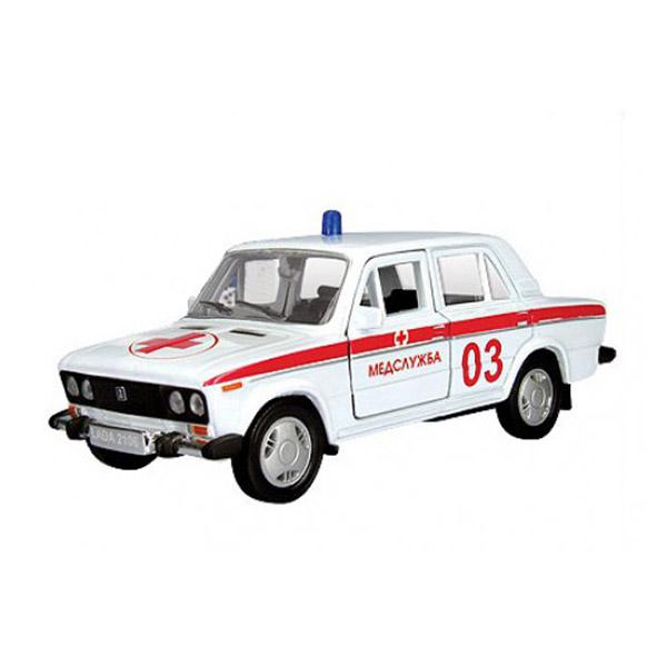 Машинка Autotime LADA 2106 скорая помощь 1:36<br>