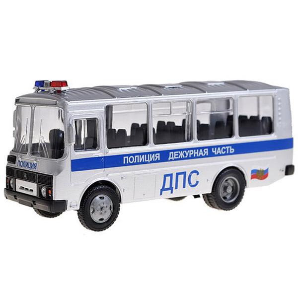 Машинка Autotime ПАЗ-32053 ДПС дежурная часть 1:43<br>