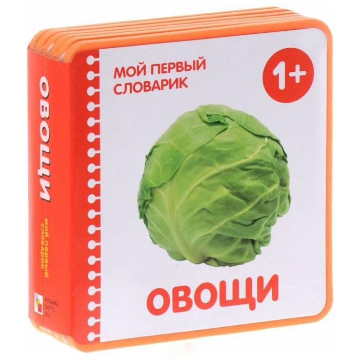 Мой первый словарик Школа семи гномов Овощи (EVA) New<br>