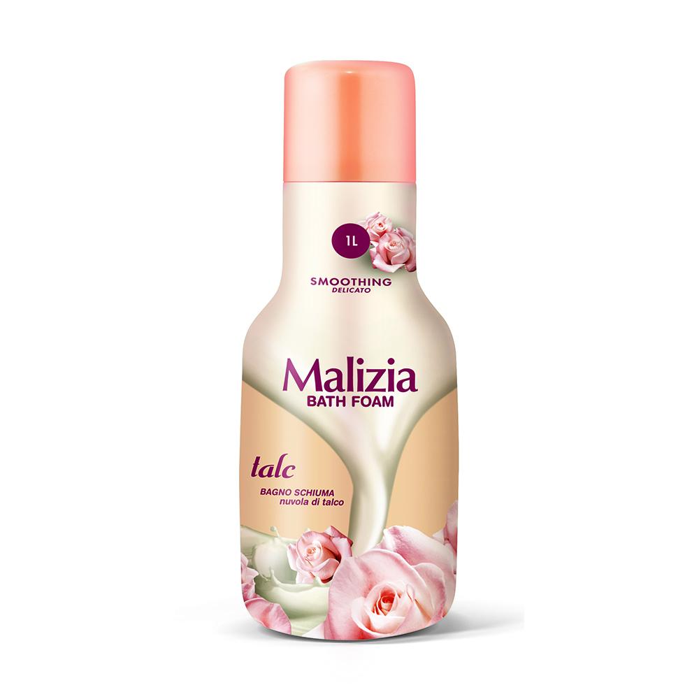 Пена Malizia для душа и ванны 1000 мл Тальк Talco<br>