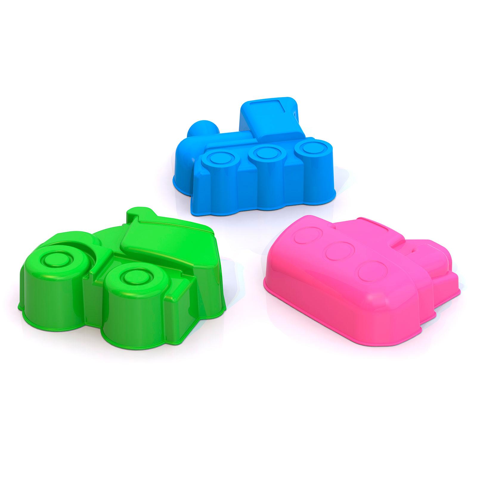 Игрушки для песочницы НОРДПЛАСТ Формочки транспорт<br>