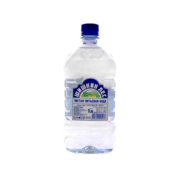 Вода питьевая Шишкин лес негазированная 1 л.