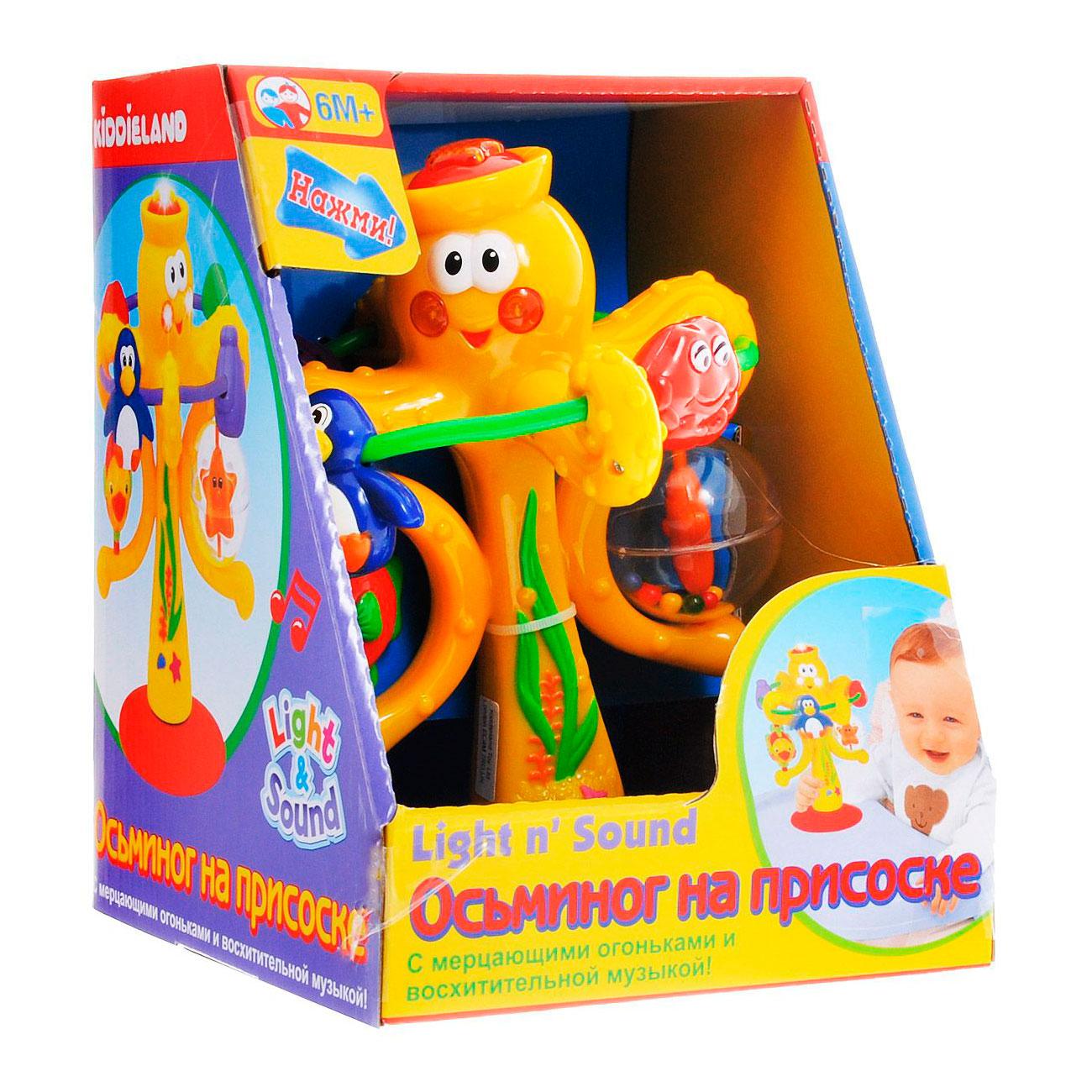 Развивающая игрушка Kiddieland Осьминог на присоске<br>