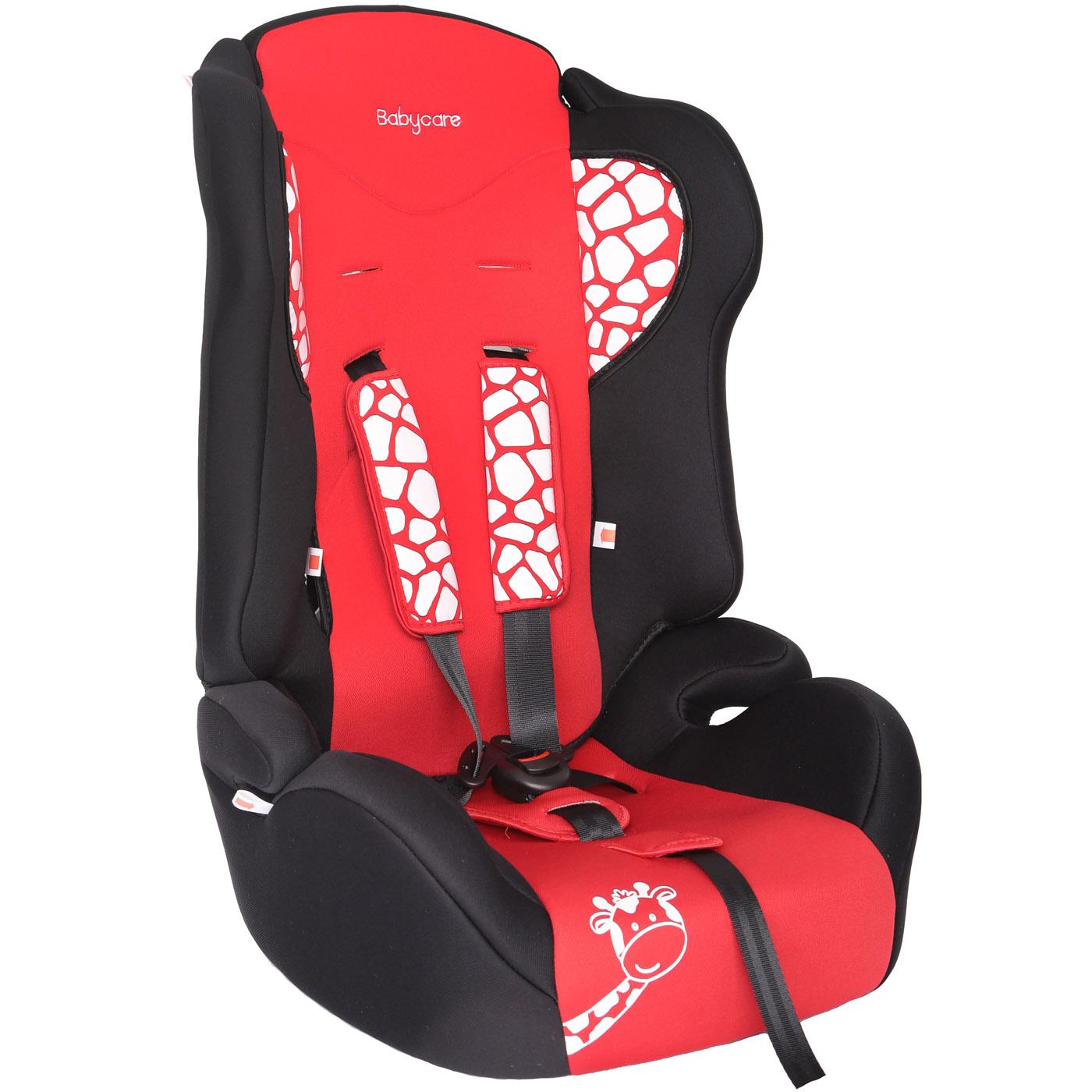 Автокресло Baby Care BC-513 Жирафик Красный<br>