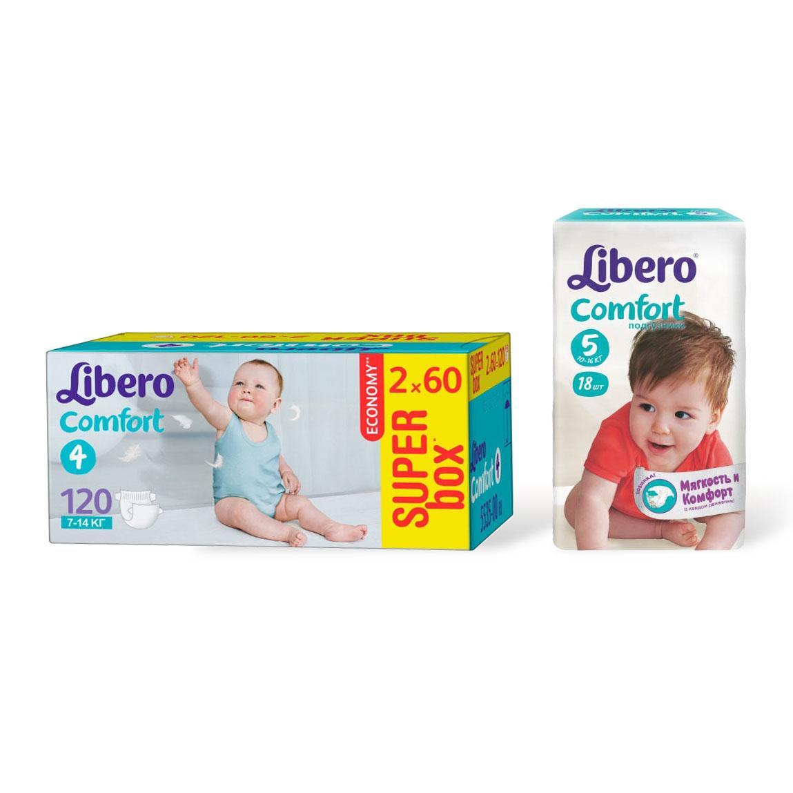 Набор Libero № 3 подгузники<br>