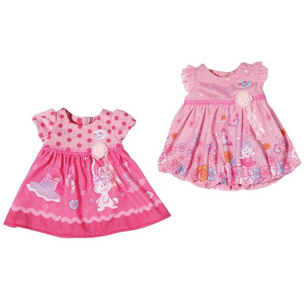 Одежда для кукол Zapf Creation Baby Born Платья на вешалке в ассортименте (2 вида)<br>