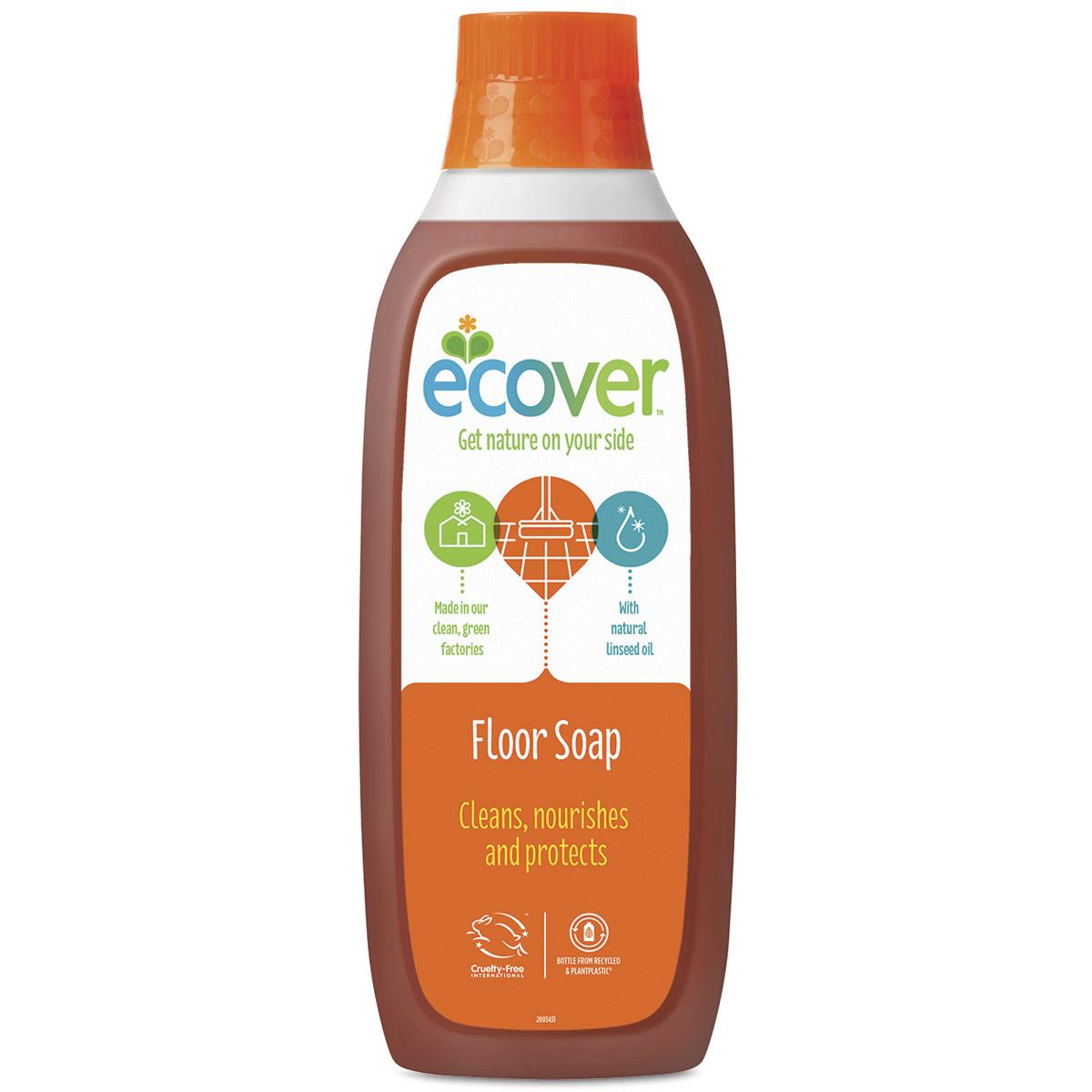 Средство для уборки квартиры Ecover 1000 мл. С льняным маслом<br>