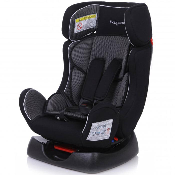 Детское автомобильное кресло Baby Care BC-719 Люкс Тигрёнок Карбон серое