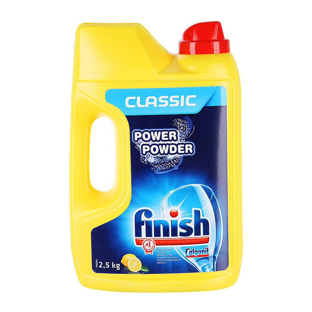 Средство Finish Power Powder для посудомоечных машин лимон порошкообразное 2,5 кг<br>