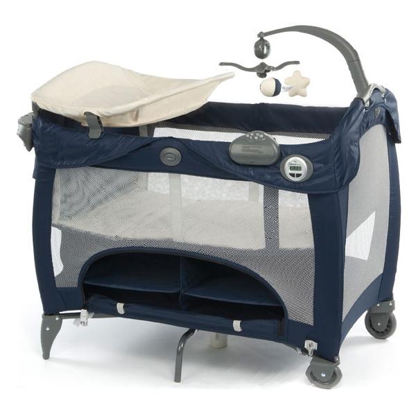 Манеж-кровать Graco Contour Prestige Синий Peacoat<br>