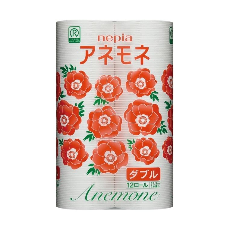 Туалетная бумага Nepia Anemore (2 cл) 12 рулонов<br>