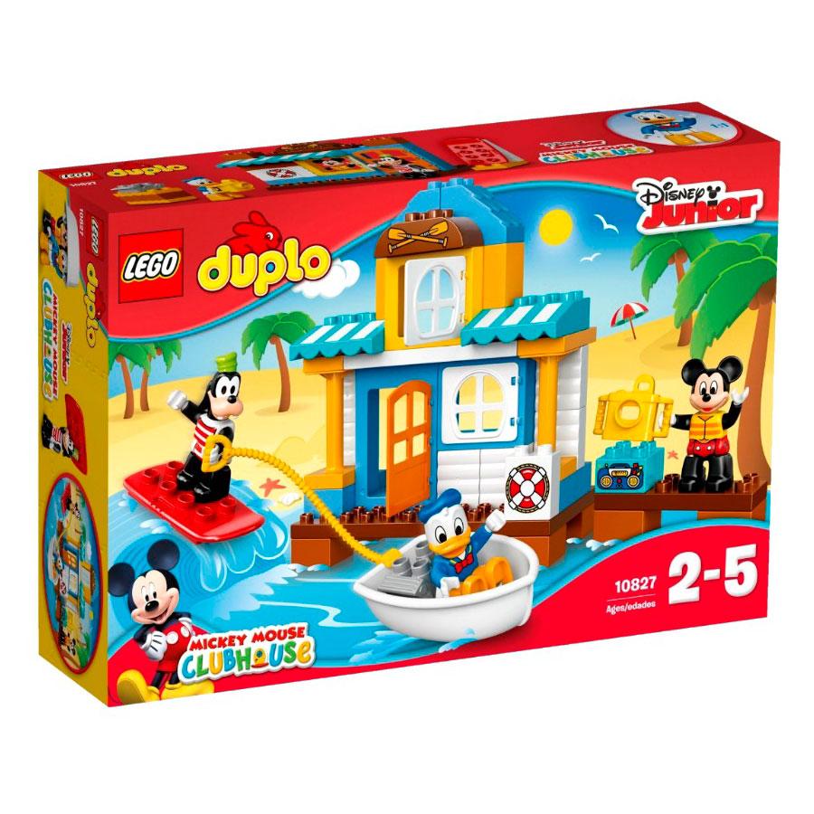 Конструктор LEGO Duplo 10827 Домик на пляже<br>