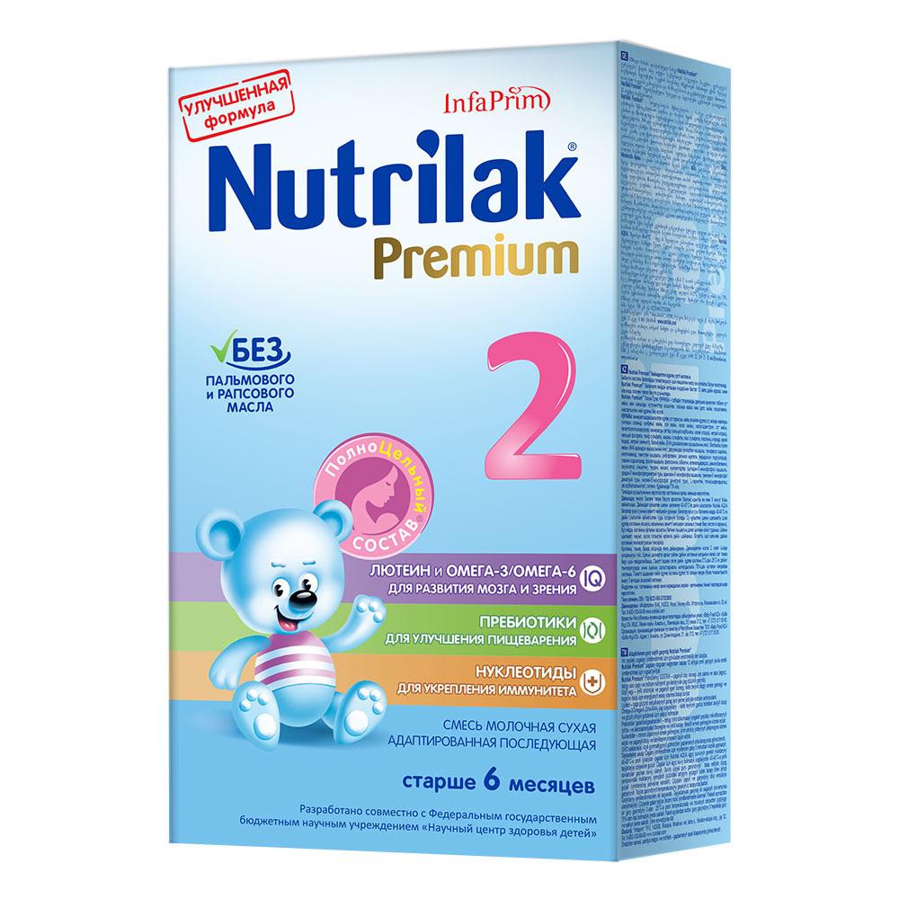 ���������� Nutrilak Premium 350 �� � 2 (� 6 �� 12 ���)