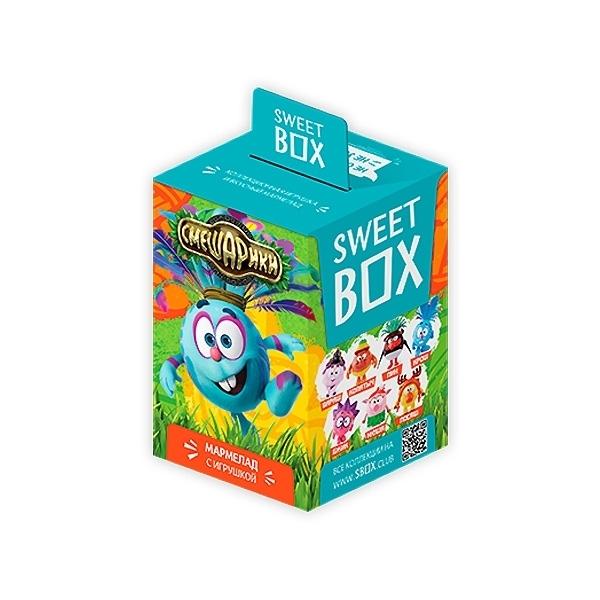 Мармелад Sweet Box с игрушкой Cмешарики Легенда<br>