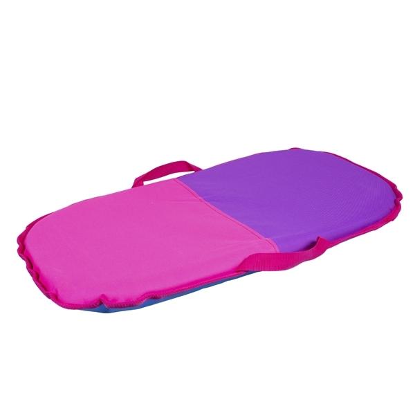 Санки-айсбот Метиз Средние Розовые с фиолетовым<br>