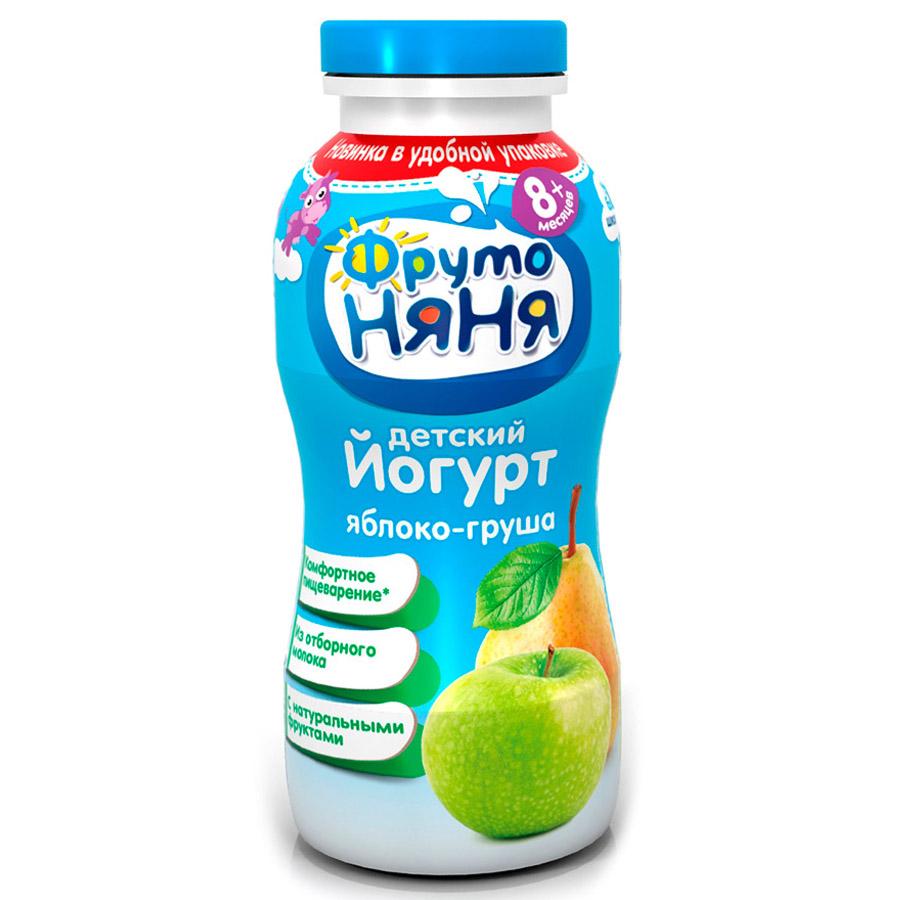 Йогурт ФрутоНяня 200 мл Яблоко груша 2,5% (с 8 мес)<br>