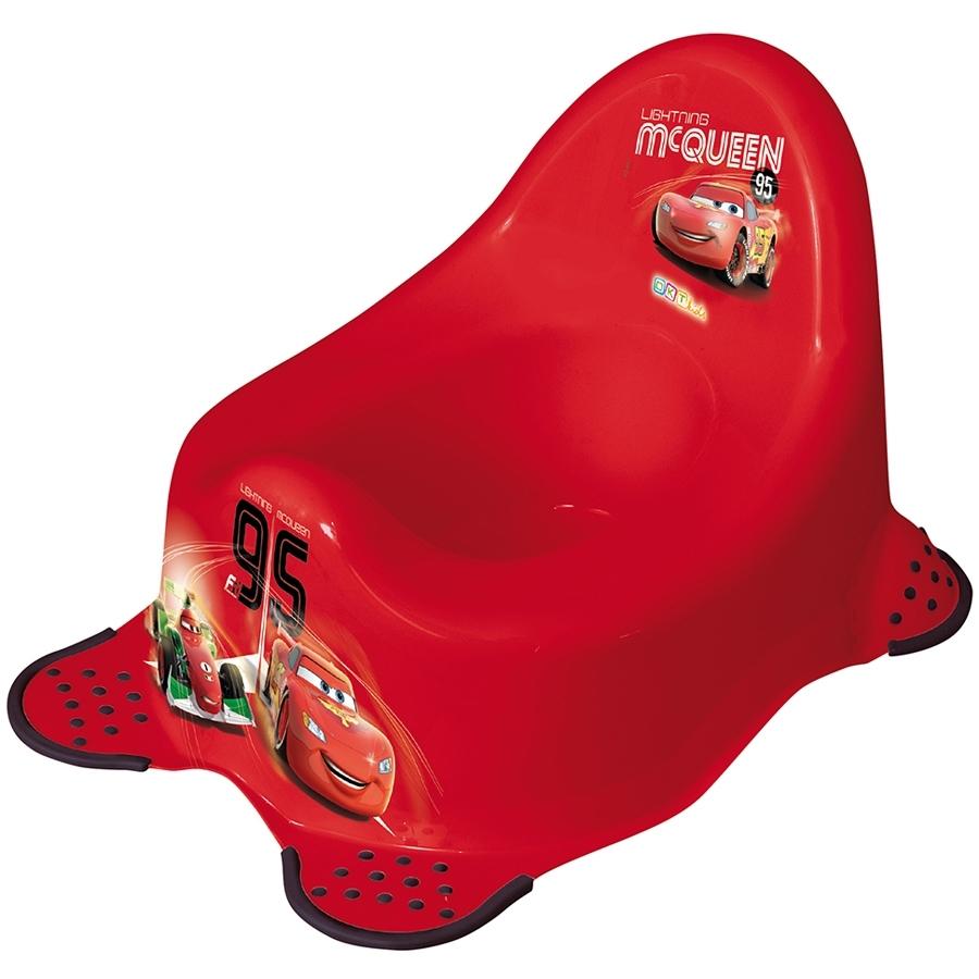 Горшок детский ОКТ Disney Тачки красный (нескользящие ножки)<br>