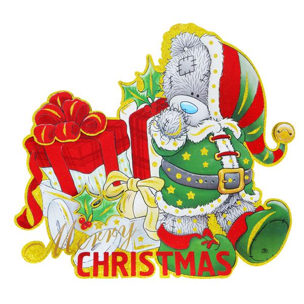 Панно Winter Wings Me to you Мишка с подарками 63х55 см картон<br>