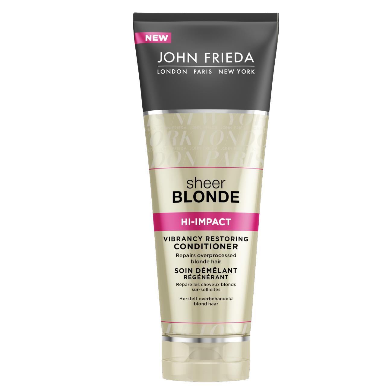 Кондиционер John Frieda Sheer Blonde для сильно поврежденных волос 250 мл<br>
