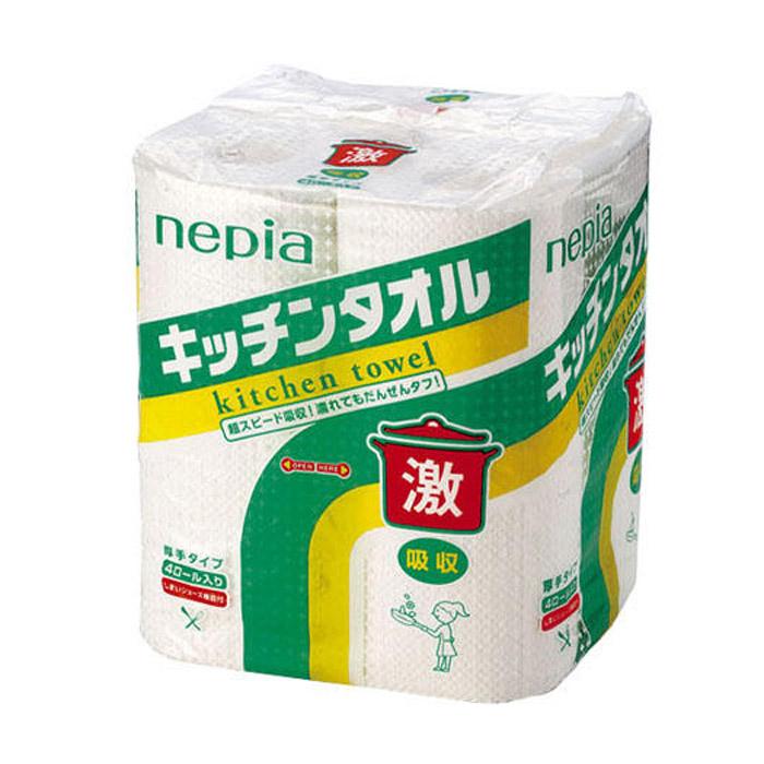 Полотенца бумажные Nepia 50 листов 4 шт<br>