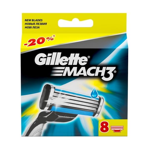 C������ ������� ��� ������ Gillette MACH3 8 ��.