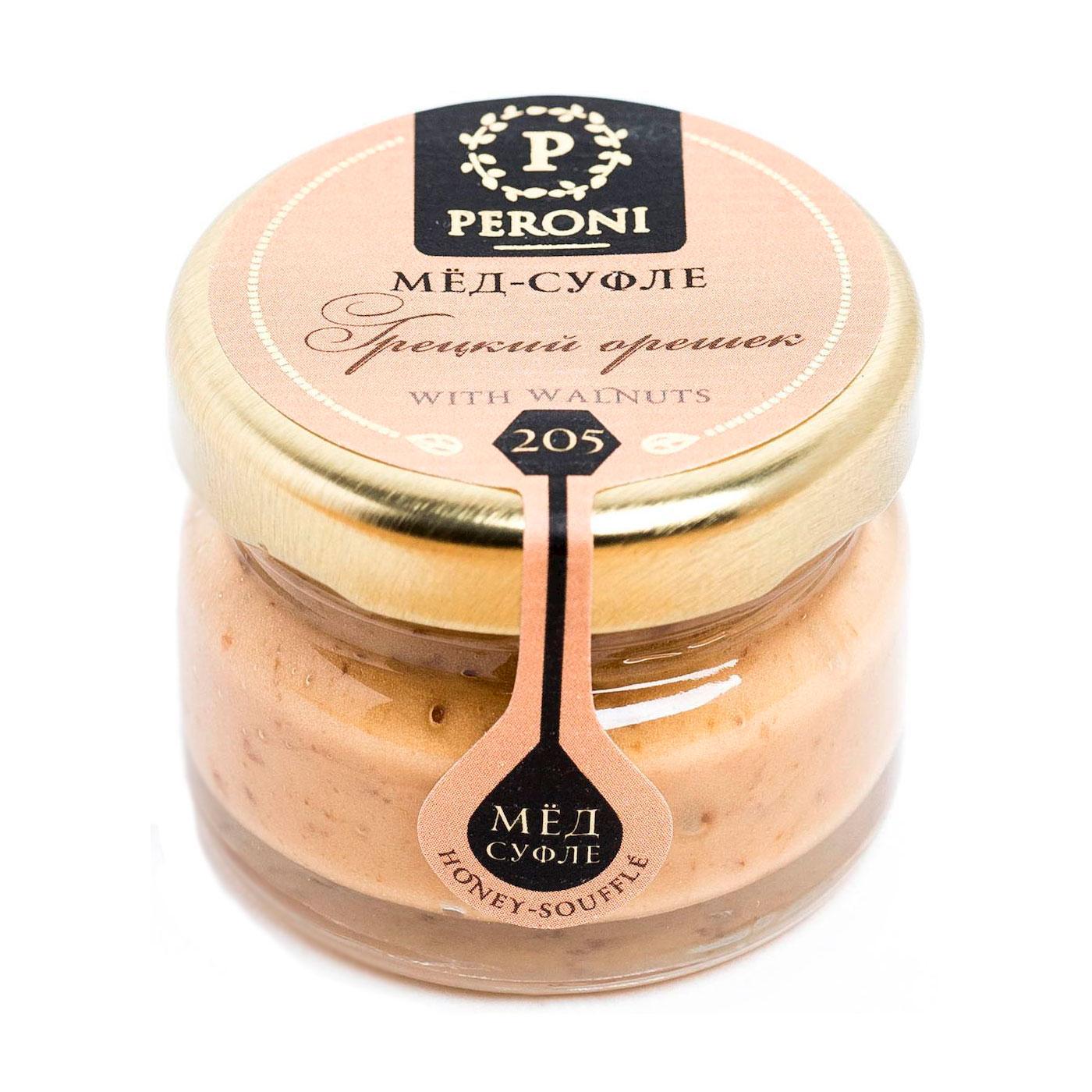Мёд-суфле Peroni Honey 30 мл Грецкий орешек (маленькая)<br>