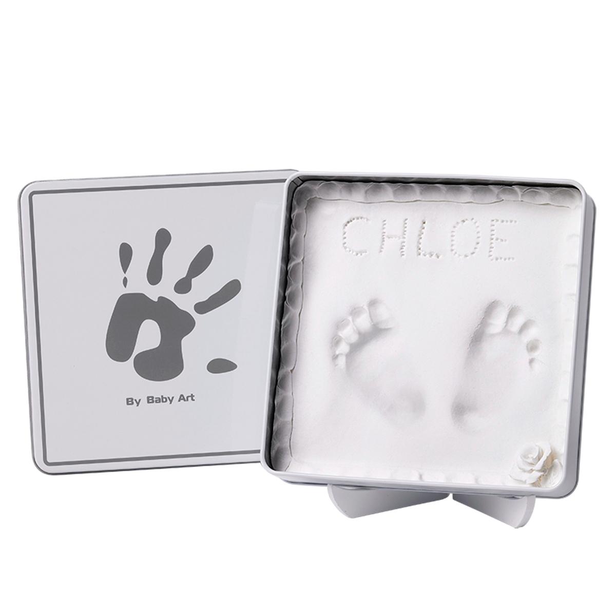 Коробочка Baby Art Мэджик Бокс (с отпечатком) белая<br>